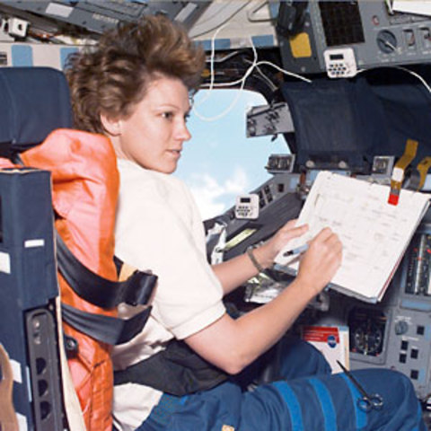 First Woman to Command a Shuttle Mission