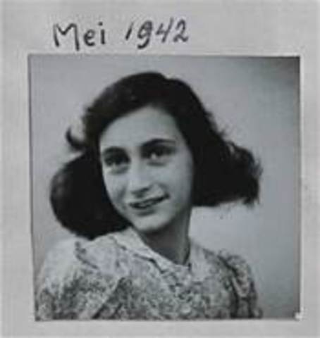 Anne Frank and her family goes in to hiding