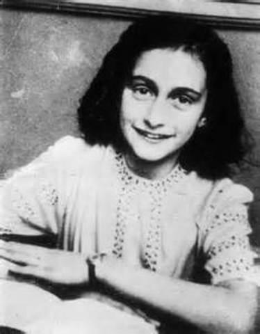 Anne Frank is found