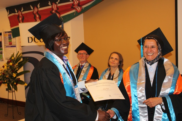 213 of Africa's future leaders graduate from the African Leadership in ICT (ALICT) Course at Kenya's Great Rift Valley.