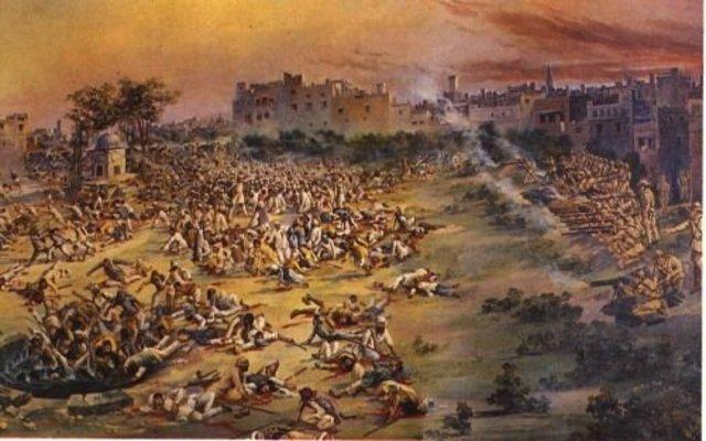 Amritsar Jallianwala Bagh Massacre