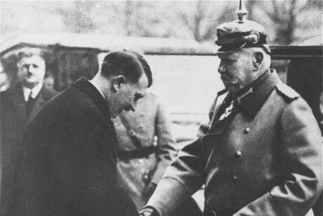 President Hindenburg appoints Adolf Hitler Chancellor of Germany.