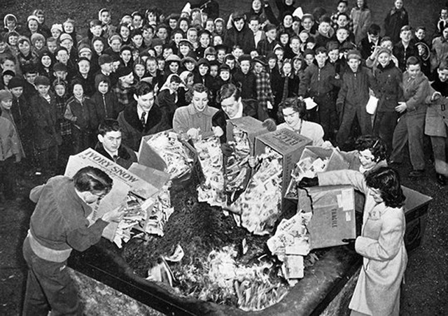 Nazi book burnings