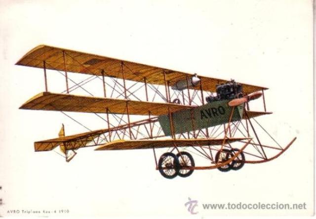 Aeroplano invención de Wilbury Orville Wright