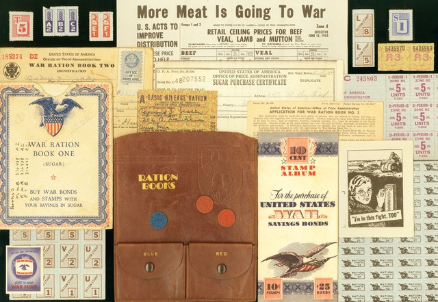 Rationing of Food in U.S. Starts