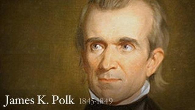 President Polk Confirms Gold