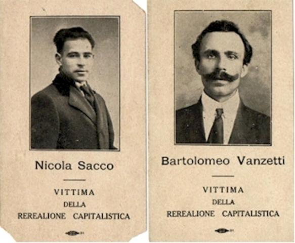 Roaring 20s: Sacco and Vanzetti