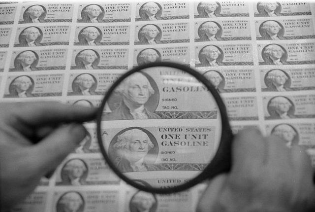 War Rationing in the US Begins