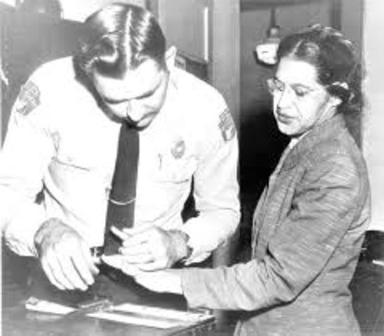 Civil Rights Movement: Arrest of Rosa Parks