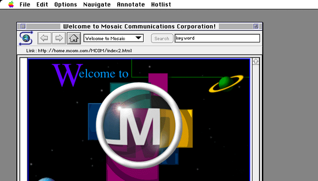 Mosaic Web Browser Released