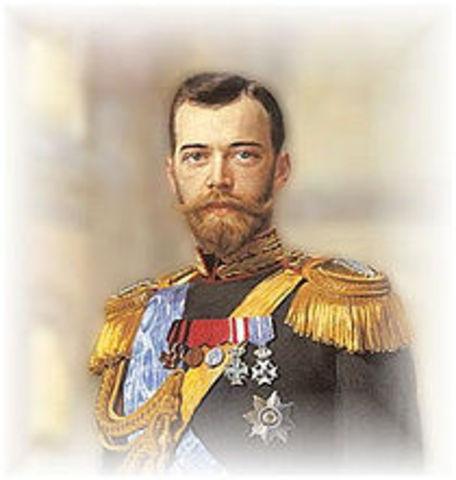 Nicholas II of Russia Abdicates
