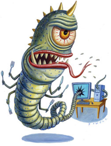 First Worm Virus