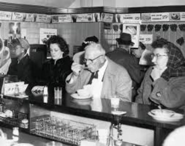 Lunch Counter Sit-In at Woolworth's