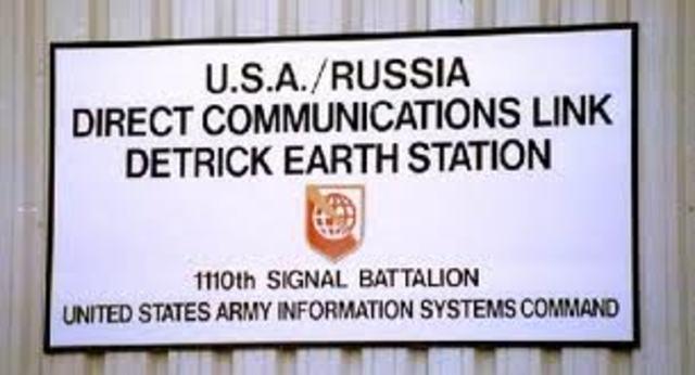 """Hot Line"" Established Between U.S. and U.S.S.R."