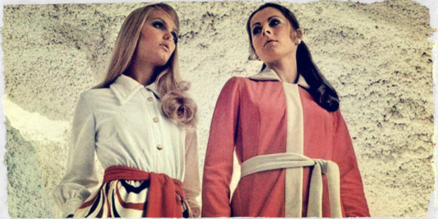 Womens clothing in the 1970s