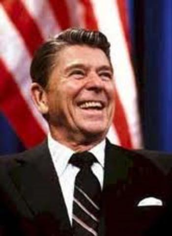 Ronald Reagan wins election - Political