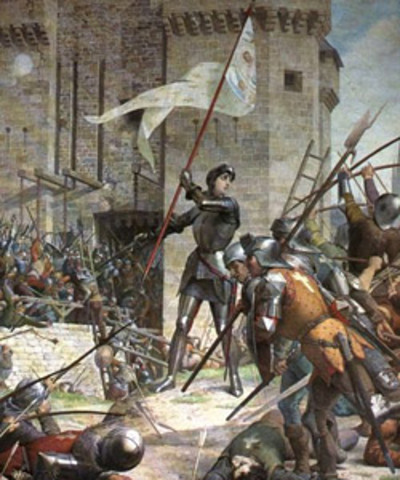 Burgundians got their wish granted which was to capture Joan and this happened outside the gate of Compiegne.