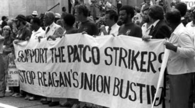 PATCO went on strike - Social