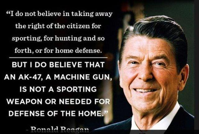 Ronald Reagan bans chemical weapons - Political