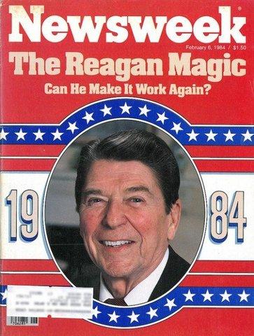 Ronald Reagon wins reelection - Political