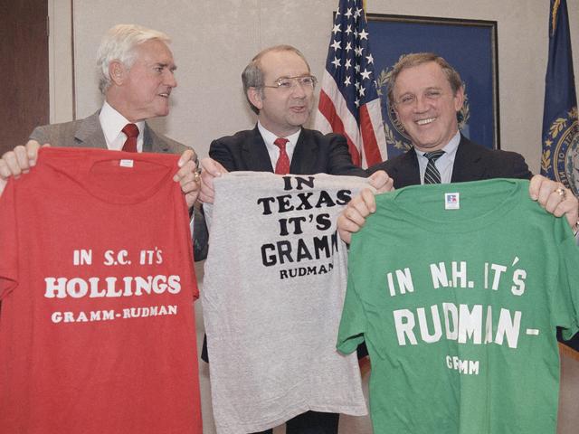 Gramm Rudman-Hollings Act - Economic