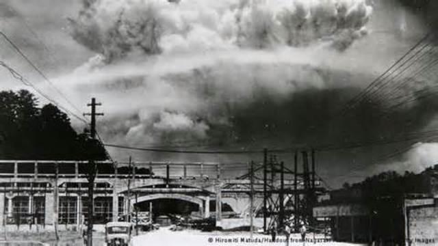 U.S. Drops Bomb on Nagasaki