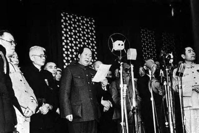 Communist People's Republic of China Proclaimed