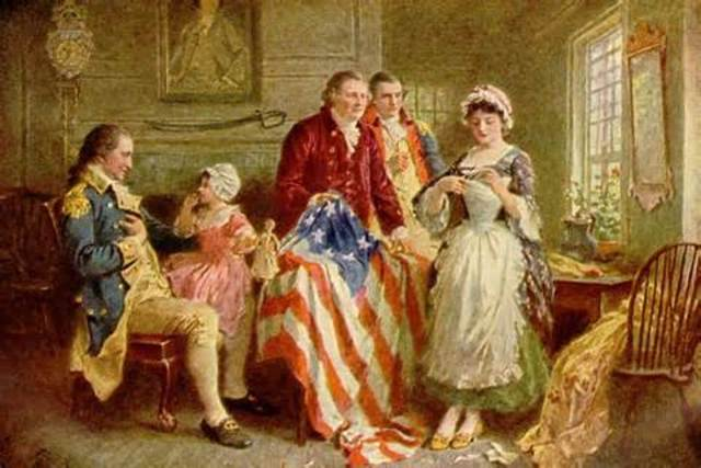 Making the American Flag