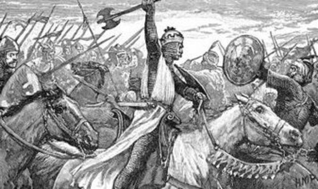 The Battle of Montvalmy and death of King Carolus II