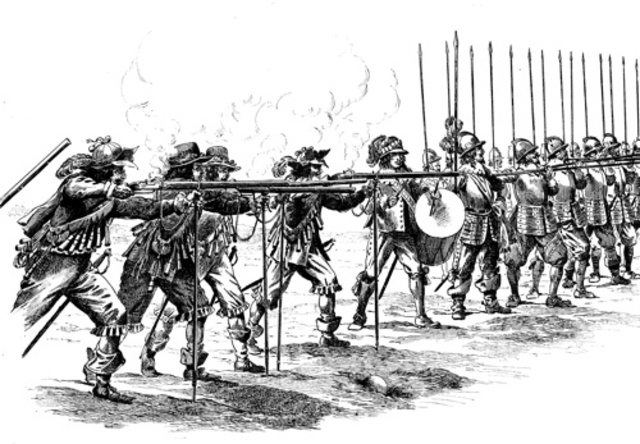 Creation of the first professional army regiments