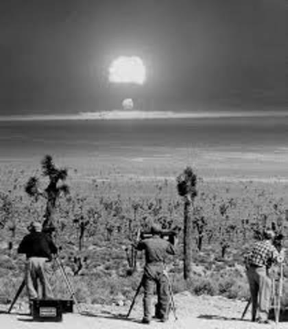 US performs nuclear test at Nevada Test Site