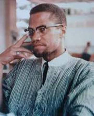 Rights activist Malcolm X is shot dead