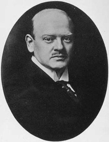 Gustav Stresemann died
