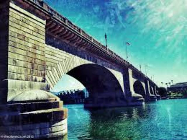 London Bridge Brought to the U.S.