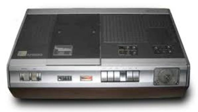 VCRs Introduced