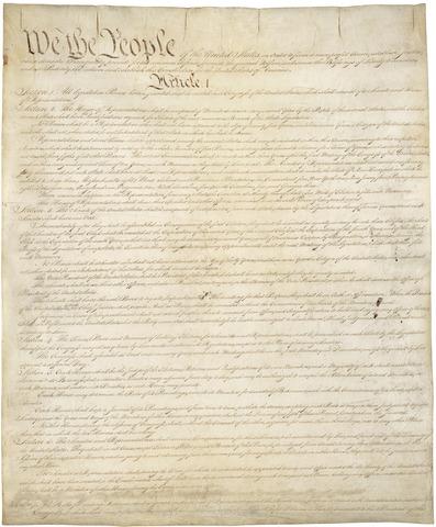 The U.S. Constitution of America