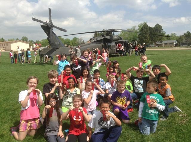 Black Hawk Helicopter Landing!
