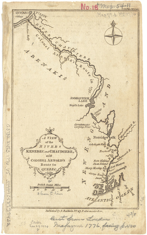 Benedict Arnold expedition