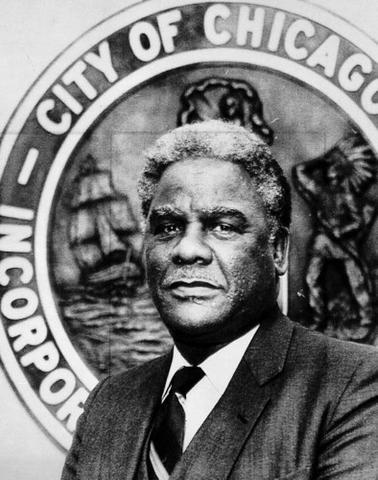 Harold Washington died - Political