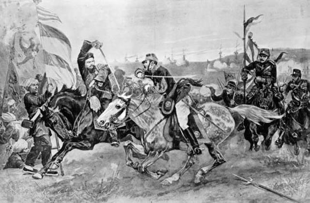 Battle of Tsingtao end