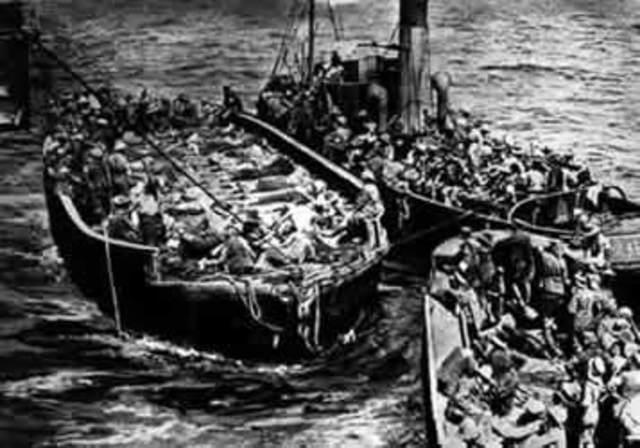 Last Australian troops evacuate from Gallipoli Peninsula