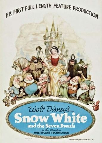 Snow White and the Seven Dwarfs is released