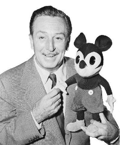 Walt Disney dies at the age of 65