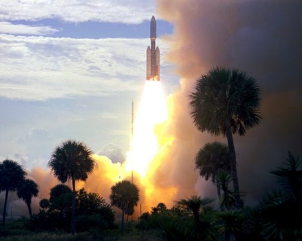 NASA Launches Mars Probe Viking 1