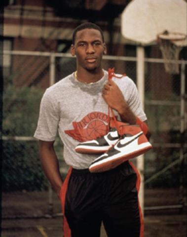 Michael Jordan Wins Rookie of the Year