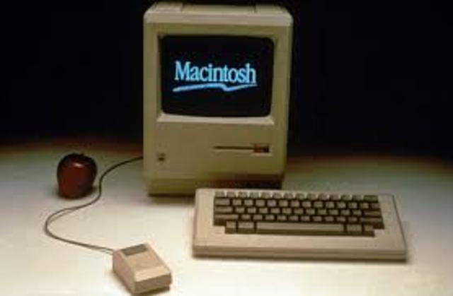 Apple Macintosh 128k Steve Jobs