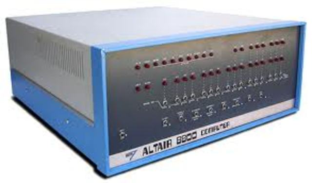 Allen's and Gates' BASIC for the Altair platform.