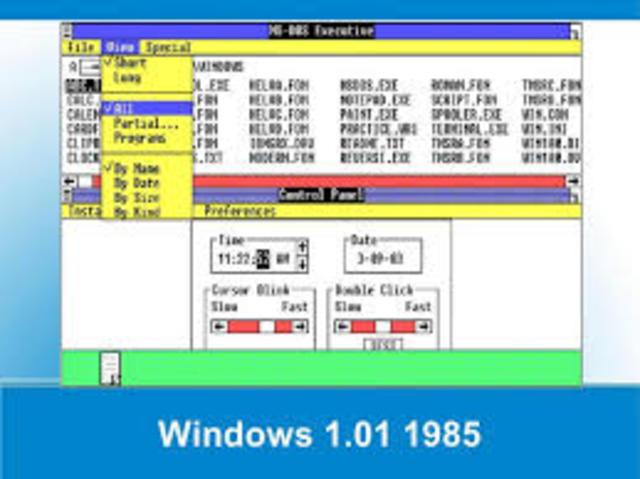 Microsoft released Windows