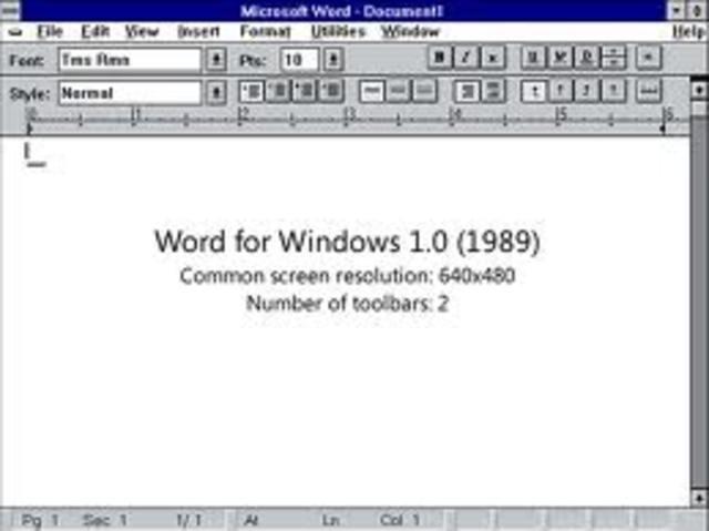Microsoft in 1990