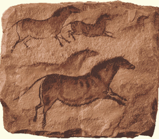 Cave Paintings 32000years ago